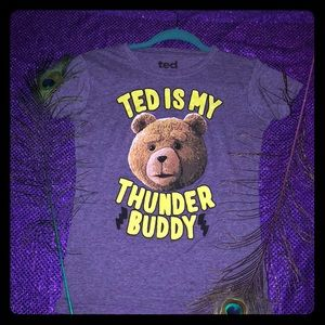 TED is My Thunder Buddy Graphic Tee🐻⚡️